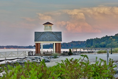 yorktown virginia yorkriver harbor sunset dusk