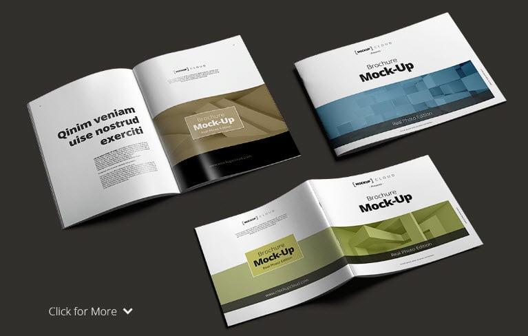 Brochure Mockup PSD - Brochure Mockup PSD