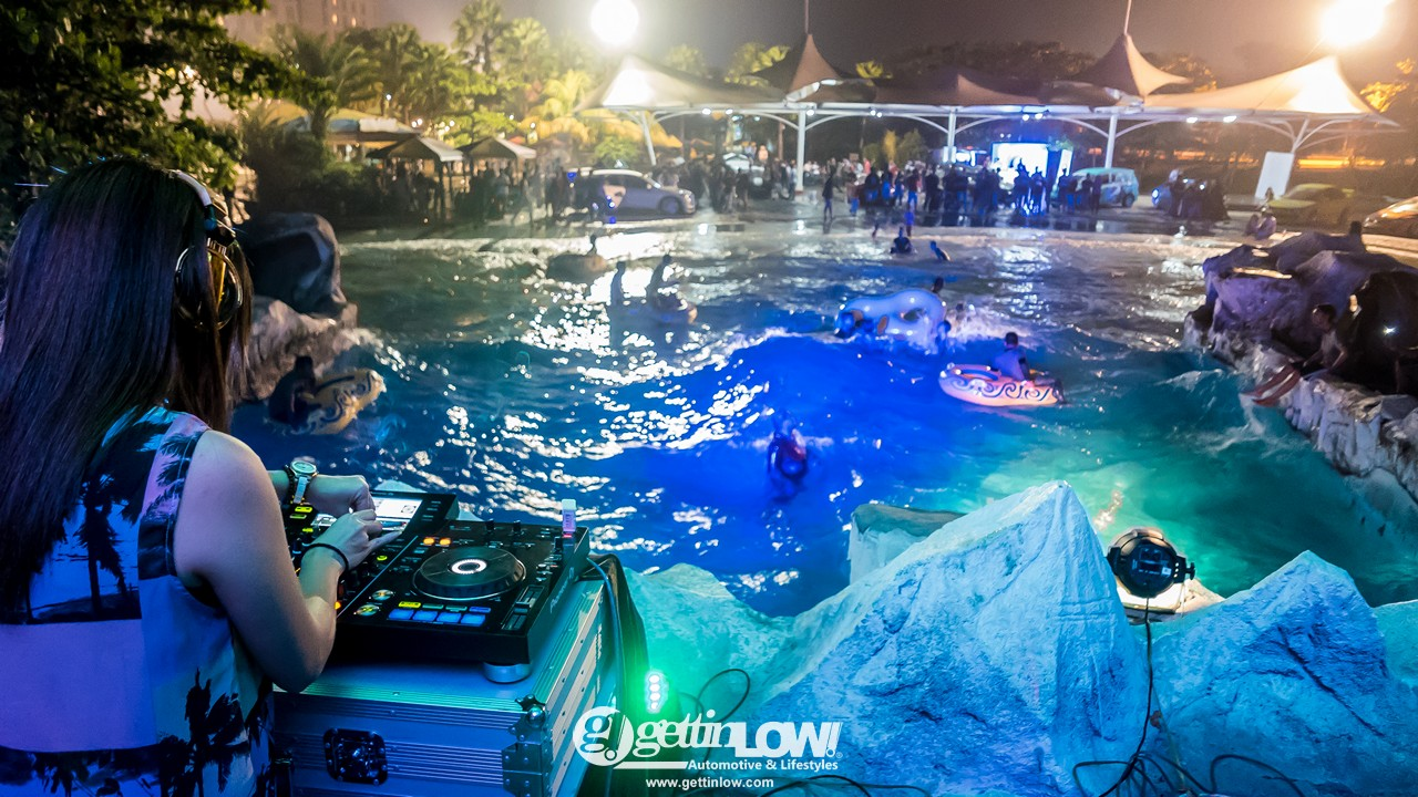 Car Pool Party Night Karawang