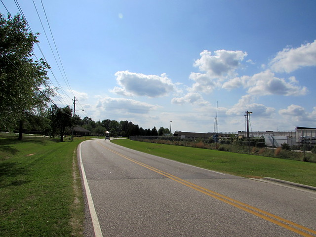 Looking Down Liberty Hill Road.
