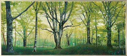 ブナの森 110×250 1991 cb (1)