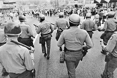 Police Advance on Anti-Vietnam War Protesters in College Park MD: May 1970