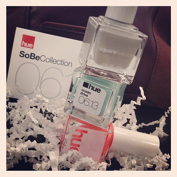 Um, hi SoBe collection. You're my favorite! Such good colors! #nailpolish #nailpolishobsessed #squarehue #sobe #june #inthemail #unboxing #instagood #igdaily