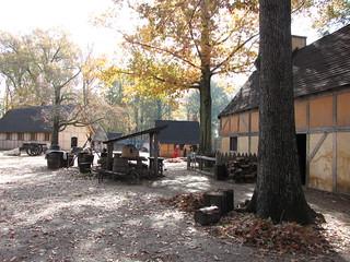 Jamestown #2 - pierwsza stała osada angielskich kolonistów w Ameryce Północnej, założona 14.05.1607