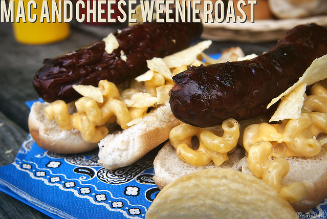 Mac and Cheese Hot Dogs from GirlCarnivore.com