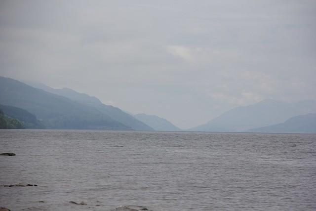 Loch Ness with Nessie