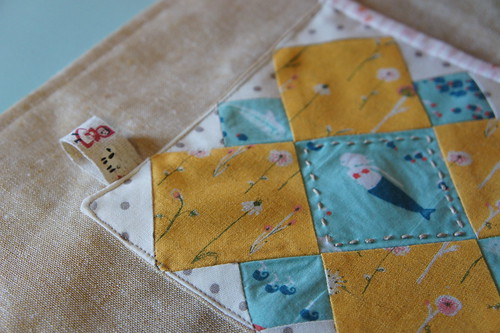 Polka Dot Cafe Apron - Patchwork Please