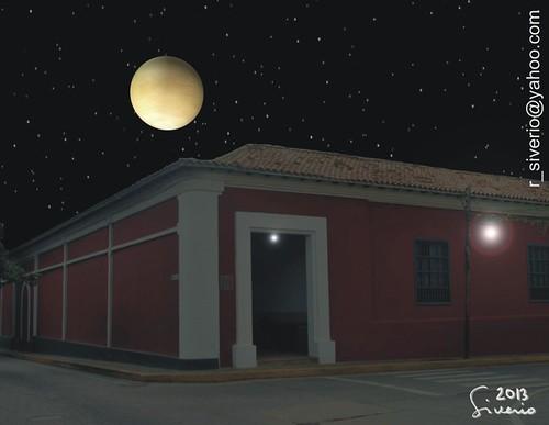 Venus desde La Casa de La Estrella. 8:30 pm by Niño Jesús