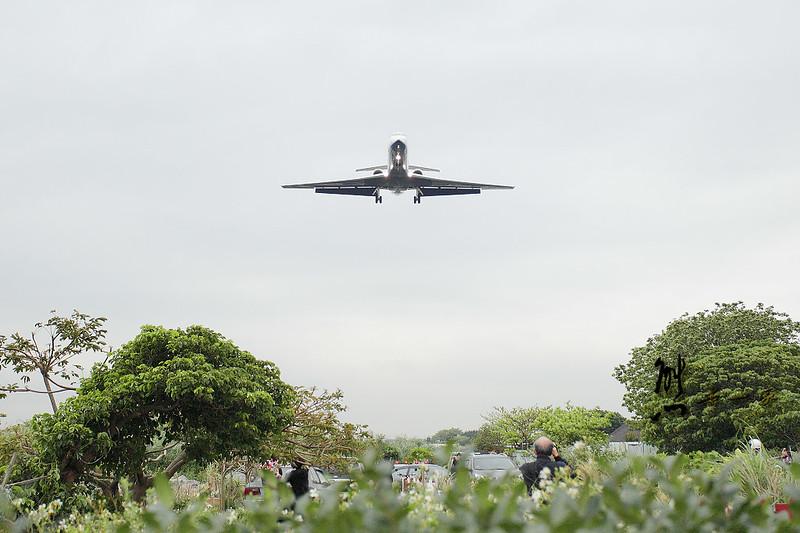 松山機場濱江街180巷|飛機巷|看飛機起降
