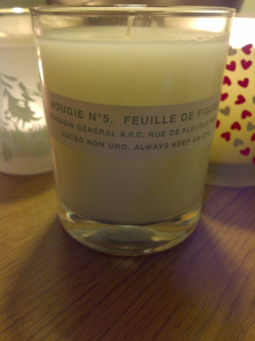 APC Candle in no.3 Fig