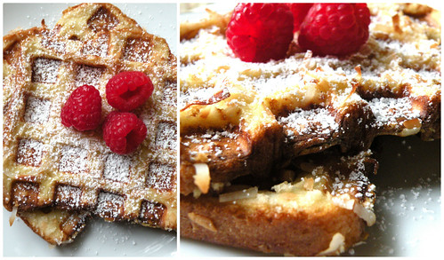 Mrs. Fields Secrets Coconut Crusted French Toast Waffles