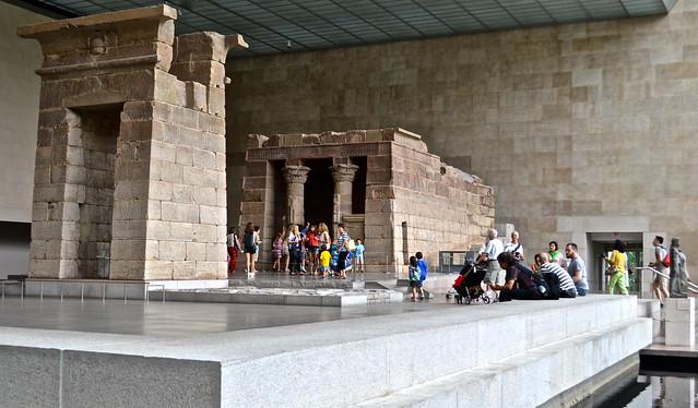 metropolitan museum of art - egyptian art dendur - temple