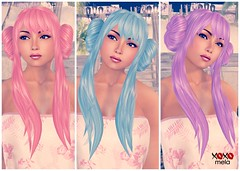 rosy mood - fuga. dollarbie at hair fair 2013