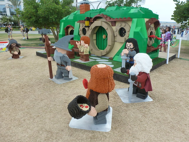 LEGO Bag End from The Hobbit