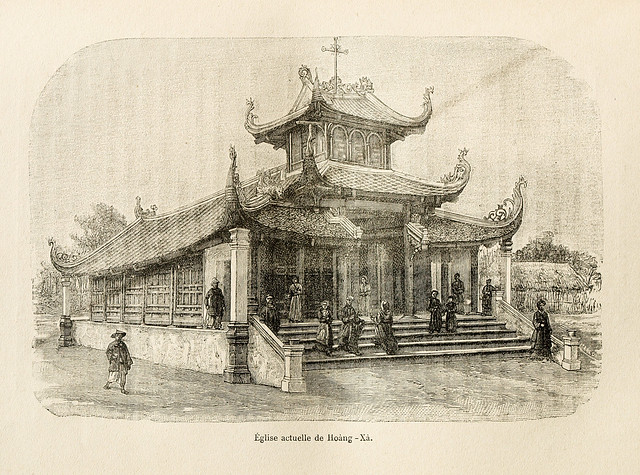 Nhà thờ Hoàng Xá - Ðịa Phận Ðoài (Hưng Hóa)