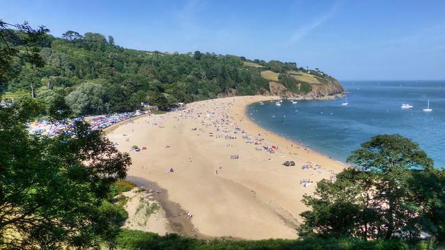 Blackpool Sands Beach, Devon