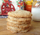Coconut Ginger Cookies