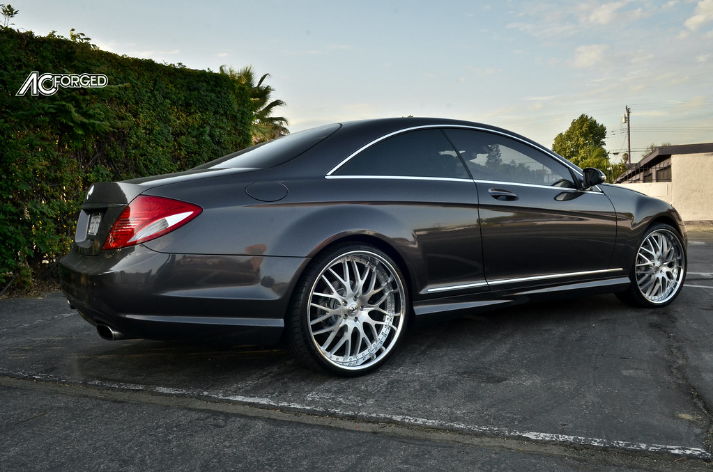 Mercedes Benz Cl 550 22 Quot Ac Forged 313 Audio City Usa