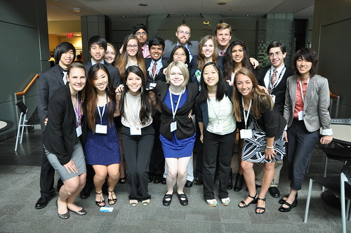 Student Final Presentations - This photo is from the July 20-29 session of NSLC on the campus of Harvard Medical School