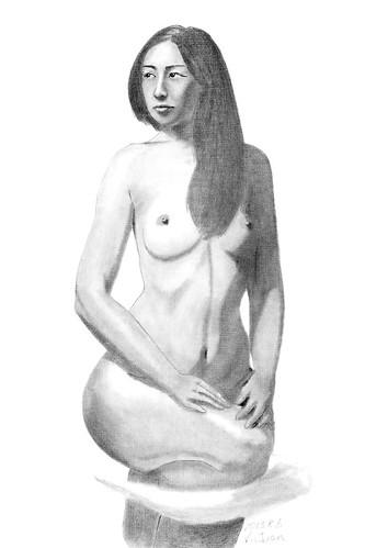人体素描 第268回