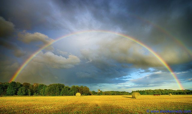 Double Rainbow in Door County - Mark III