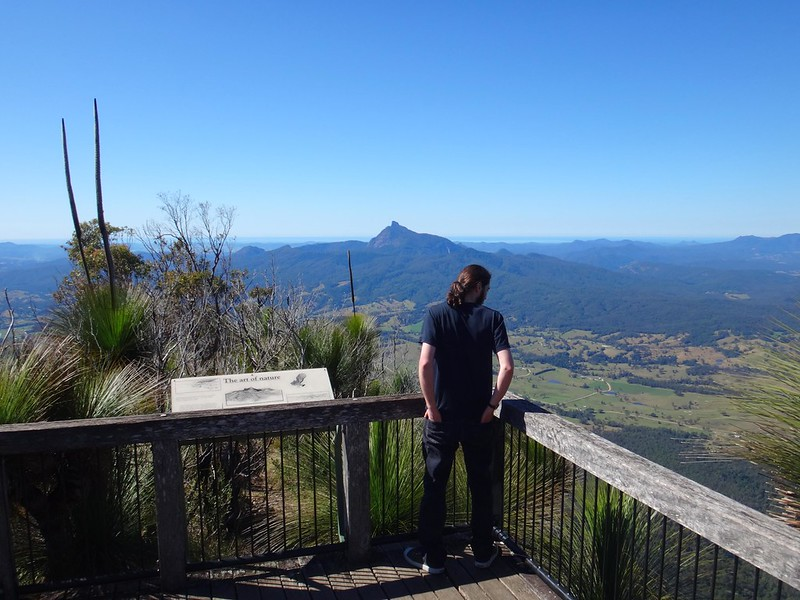 """The Pinnacle"" Lookout, Border Ranges NP"
