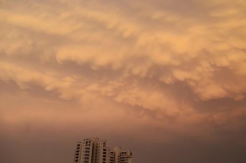 sunset sky cloud weather skyscraper flickrandroidapp:filter=none