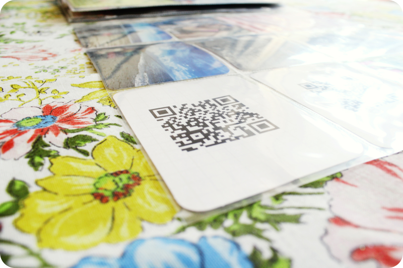 {project life} at the beach | qr codes