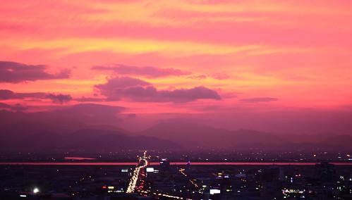 sunset university dusk busan dongseo dongseouniversity