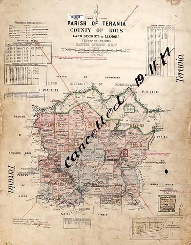 Parish of Terania 1911