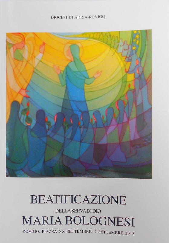 libretto della beatificazione di Maria Bolognesi