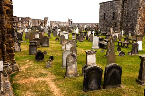 St. Andrews Graveyard; copyright 2013: Georg Berg