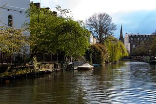 Le long du Regent's Canal