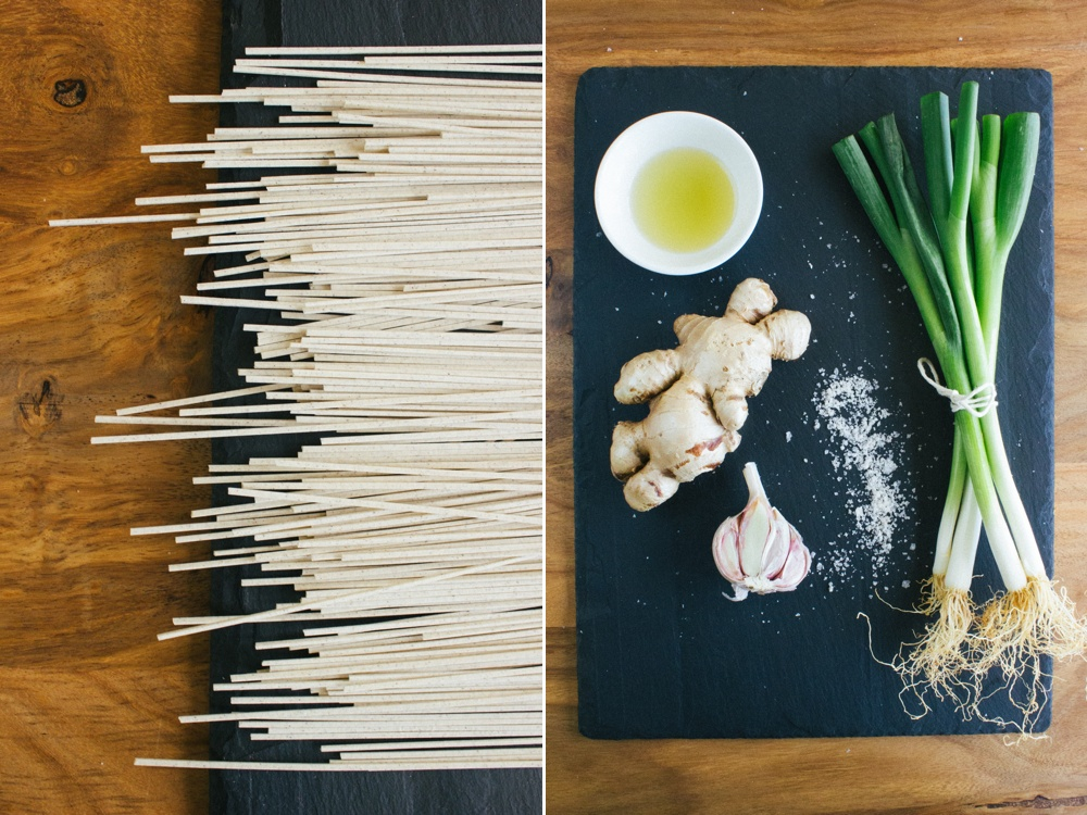 Ginger Poached Chicken with Tangy Soba Noodle Salad | Simple Provisions