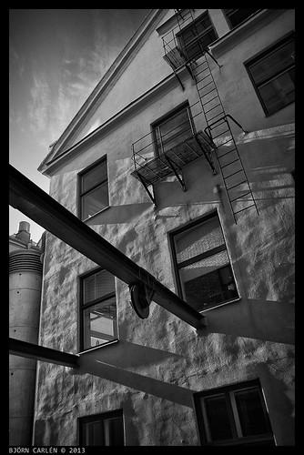 bw architecture sweden norrköping urbanscapes d600 silverefex nikkor282ai photobjorncom