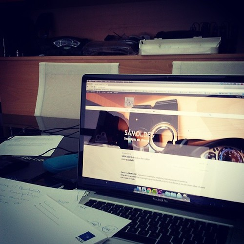 Working in webdesign :) #sámoldes #paulodesign