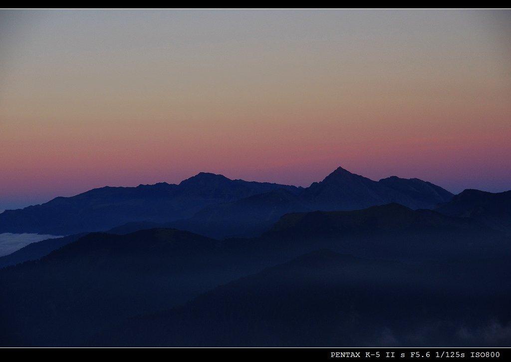 [高山攝影]合歡北峰
