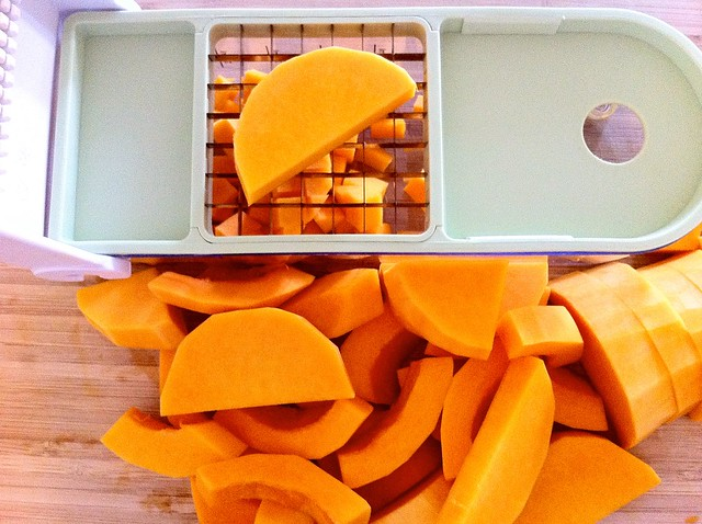 Dicing Butternut Squash