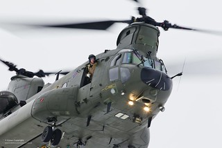 RAF Chinook Mk3 Helicopter