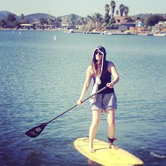 surface water sports, sports, sea, water sport, stand up paddle surfing, surfboard, paddle,