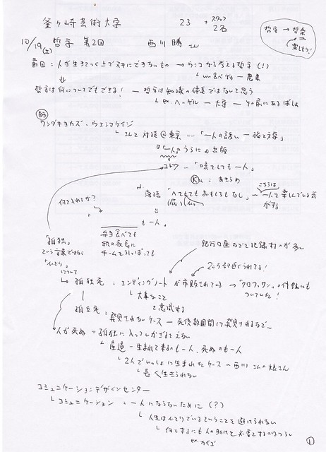 釜芸哲学第2回No120131019