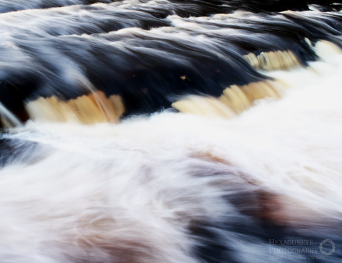 Over the Weir by Hexagoneye Photography