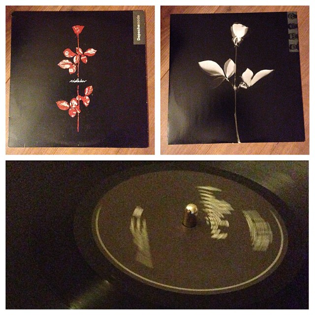 "031113_ #np ""Violator"" by Depeche Mode #vinyl"