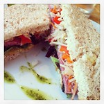 Phenomenal #sandwich at @fennsquay for #lunch made with @englishmarlet ingredients. @caitl is brilliant!