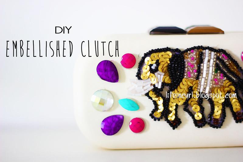 DIY: clutch con pietre