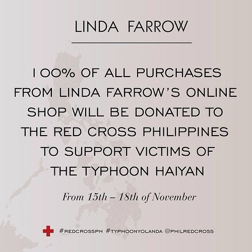 Linda Farrow sale