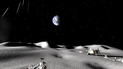 НАСА начнет выращивать растения на Луне в 2015 году