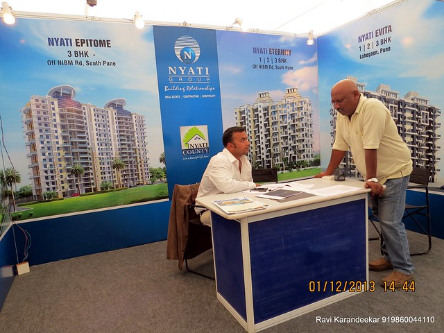 www.nyatigroup.com Nyati Group - 94.3 Radio One Pune  'Dream Property Expo' - Pune Property Exhibition - 30th November & 1st December 2013 at Ramee Grand Hotel, Apte Road, Pune