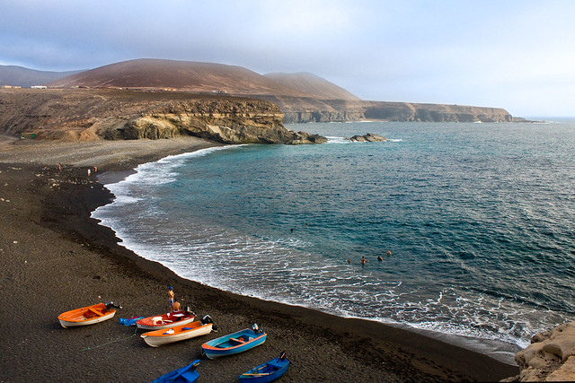 - Ajuy beach, fishing village I - Fuerteventura
