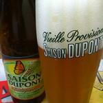 ベルギービール大好き!! セゾン・デュポン Saison Dupont